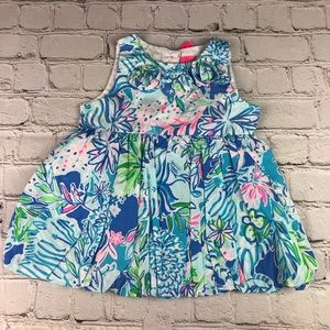 Lilly Pulitzer Baby Brittany Bubble Dress 6-12M